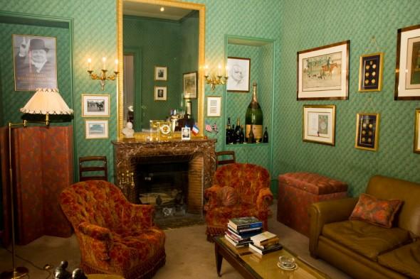 Winston Churchill Room at Pol Roger