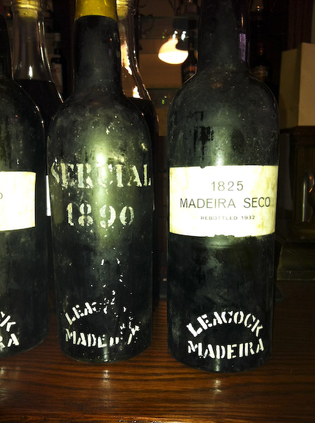 The last 2 wines, 1890 and 1825