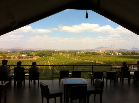 Sula Vineyards tasting room