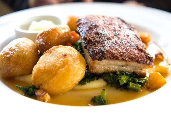 Slow Roast belly of Bowland Pork